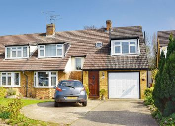 Thumbnail 4 bedroom semi-detached house for sale in Park Crescent, Elstree, Borehamwood