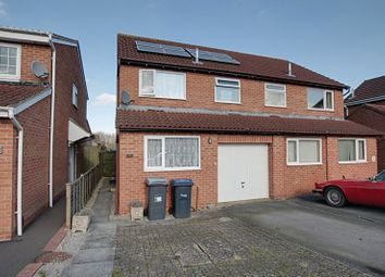Thumbnail 3 bed semi-detached house to rent in Devon Drive, Westbury