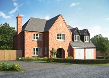 Thumbnail 5 bed detached house for sale in The Eaton, The Corft, Cosby Road, Littlethorpe
