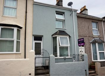 Thumbnail 2 bed terraced house for sale in Hanover Road, Plymouth