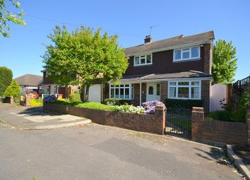 Thumbnail 5 bed detached house for sale in Barton Close, Shepperton