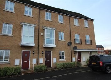 Thumbnail 5 bed town house for sale in New Lakeside, Hampton Vale, Peterborough