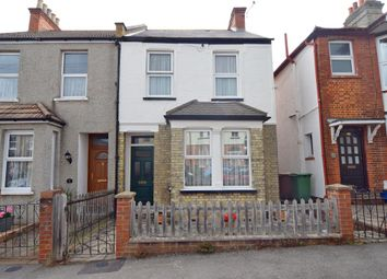 Thumbnail 3 bed semi-detached house for sale in Hampton Road, Worcester Park, Surrey