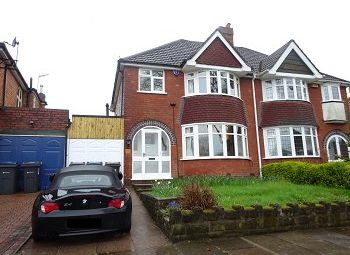 Thumbnail 3 bed semi-detached house to rent in Edenhall Road, Quinton, Birmingham