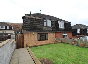 Thumbnail 3 bed semi-detached house for sale in Old Pant Road, Newbridge, Newport