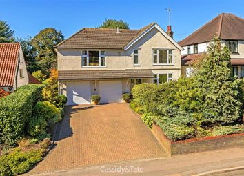 Thumbnail 4 bed detached house for sale in Harpenden Road, St Albans, Hertfordshire