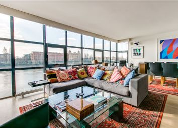 Thumbnail 3 bed flat to rent in Thames Reach, 80 Rainville Road, London