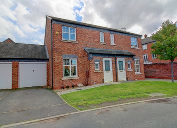 Crecy Place, Lichfield WS14. 3 bed semi-detached house