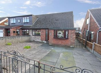 Thumbnail 3 bedroom semi-detached bungalow for sale in Lulworth Drive, Hindley Green, Wigan, Lancashire