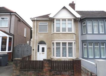 3 bed semi-detached house for sale in Baldwin Grove, Blackpool FY1