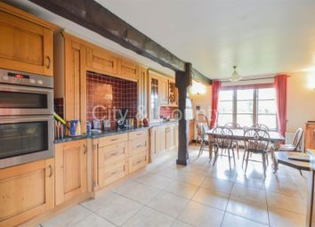Thumbnail 4 bed detached house for sale in Karrow Meadow, Newton-In-The-Isle, Wisbech