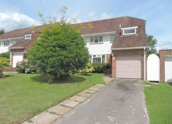 Thumbnail 3 bed end terrace house for sale in Heathlands, Westfield, Hastings, East Sussex