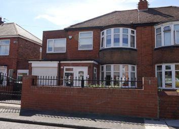 Thumbnail 5 bedroom semi-detached house for sale in Mill Hill Road, West Denton, Newcastle Upon Tyne