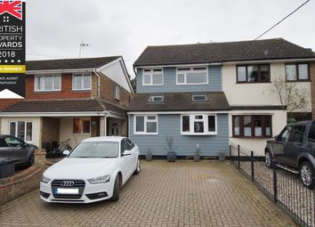 Thumbnail 3 bed semi-detached house for sale in Grasmere Avenue, Hullbridge, Hockley