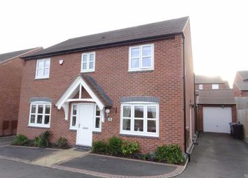 Thumbnail 4 bed detached house for sale in Helsinki Drive, Hinckley