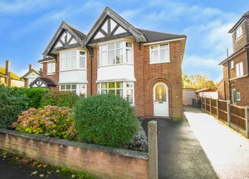 Thumbnail 3 bed semi-detached house for sale in Clumber Avenue, Chilwell, Nottingham