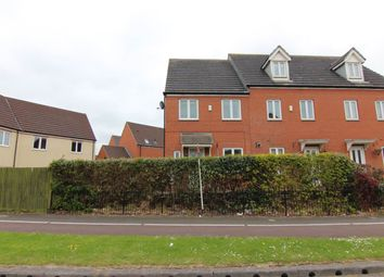 Thumbnail 3 bed property to rent in Trinity Way, Bridgwater, Somerset