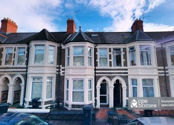 Thumbnail 5 bed terraced house for sale in Tewkesbury Street, Roath, Cardiff