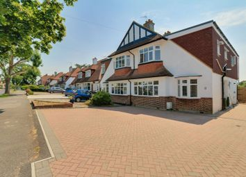 Thumbnail 4 bed semi-detached house to rent in The Glade, Stoneleigh, Epsom