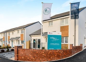 Thumbnail 3 bed detached house for sale in Nightingale Close, Sherford, Plymouth