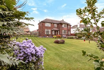 Thumbnail 5 bed detached house for sale in Congleton Road, Sandbach