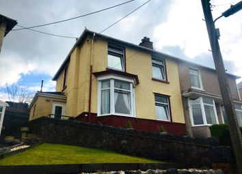 Thumbnail 3 bed semi-detached house for sale in Danygraig Road, Neath