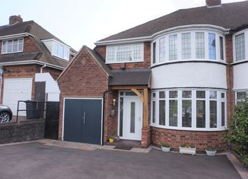 Thumbnail 3 bed semi-detached house for sale in Queslett Road East, Sutton Coldfield