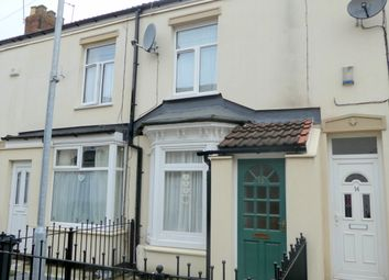 Thumbnail 2 bed terraced house for sale in Crossland Avenue, Hull
