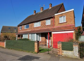 Thumbnail 3 bed semi-detached house for sale in Arnesby Crescent, Leicester