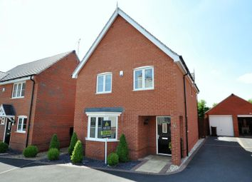 Thumbnail 4 bed detached house for sale in Ridge End Drive, Burton-On-Trent