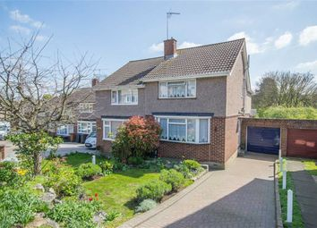 Thumbnail 3 bed semi-detached house for sale in Milton Road, Ware, Hertfordshire