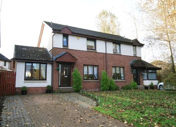 Thumbnail 4 bed semi-detached house for sale in Kaims Brae, Livingston Village