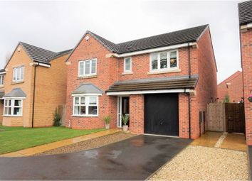 Thumbnail 4 bed detached house for sale in Privet Drive, Selby