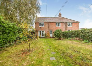 Thumbnail 4 bed semi-detached house for sale in Church Road, Barford, Norwich