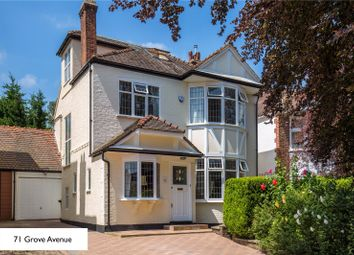 Thumbnail 6 bedroom semi-detached house for sale in Grove Avenue, London