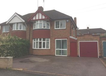 Thumbnail 3 bed semi-detached house for sale in Wintersdale Road, Leicester