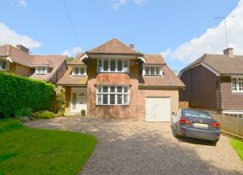 Thumbnail 4 bed detached house for sale in Manor Drive, Amersham