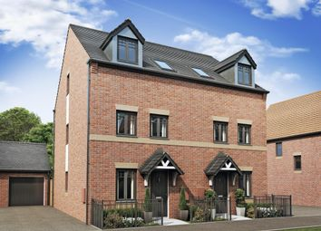 "Thumbnail 3 bedroom end terrace house for sale in ""Norbury"" at Farriers Green, Lawley Bank, Telford"