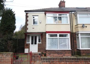 Thumbnail 3 bed end terrace house for sale in Barrington Avenue, Hull