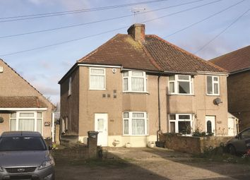 Thumbnail 3 bed semi-detached house for sale in 100 The Brent, Dartford, Kent