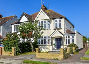 Thumbnail 3 bed semi-detached house for sale in Sutherland Boulevard, Leigh-On-Sea, Essex