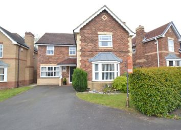 Thumbnail 4 bed detached house for sale in Greenlee Drive, High Heaton, Newcastle Upon Tyne