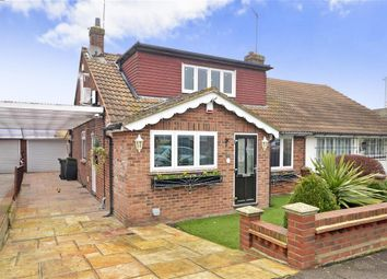 Thumbnail 3 bed bungalow for sale in Knights Walk, Abridge, Romford, Essex