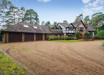 Thumbnail 5 bed detached house for sale in South Road, St. Georges Hill, Weybridge, Surrey