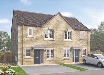 "Thumbnail 3 bed end terrace house for sale in ""The Hamilton End Townhouse"" at Sandhill Fold, Idle, Bradford"