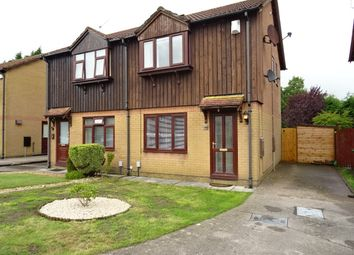 Thumbnail 2 bed semi-detached house to rent in Saffron Drive, St Mellons, Cardiff