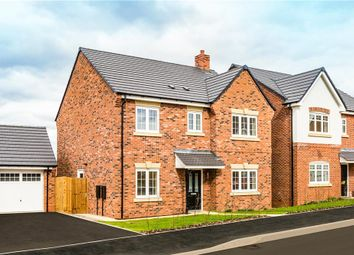 "Thumbnail 4 bedroom detached house for sale in ""Foxley"" at Warwick Road, Kibworth, Leicester"