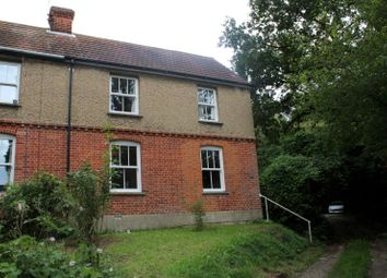 Thumbnail 3 bed semi-detached house to rent in Hillside Cottage, Burstall, Ipswich
