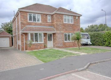 Thumbnail 4 bed detached house for sale in Almond Grove, Stallingborough, Nr. Grimsby