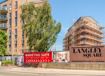 Thumbnail 3 bed flat for sale in The Knight, Langley Square, Dartford, Kent